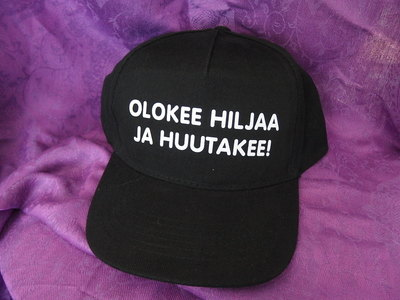 LIPPIS - OLKEE HILJAA JA HUUTAKEE!