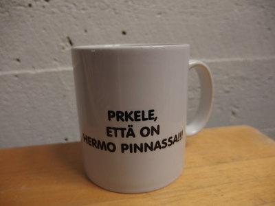PRKELE, ETTÄ ON HERMO PINNASSA- MUKI